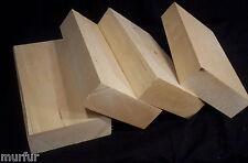4 Piece Basswood Carving Blanks Kiln Dried 2  x  5.5  x  11  Inch