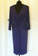 John Lewis Dress Size 18 Workwear Purple