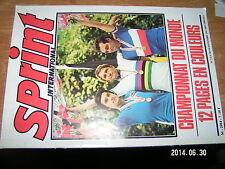 Sprint International n°7 Championnat du monde 1981 RAAS Knetemann Roche