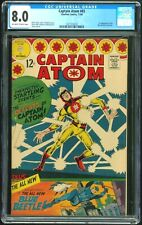 Captain Atom 83 - CGC 8.0 (First Ted Kord Blue Beetle)