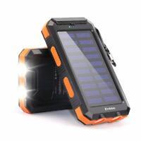 Panel Solar Portable Para Cargar Celulares Tabletas Y Mas Con 2 Salidas USB