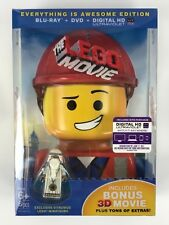 The LEGO Movie Everything is Awesome 3D Blu Ray Dvd Digital Vitruvius MiniFigure