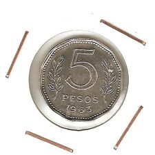 Argentina : 5 Pesos 1963 XF