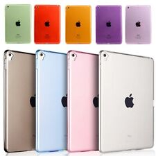 Clear Soft Gel Silicone TPU Cover Case for iPad 7th Gen 10.2/6th Gen 9.7/Mini5