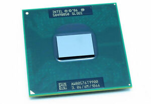 Intel Core 2 Duo T9900 SLGEE 1066MHZ 3.06GHz 6MB CPU Prozessoren