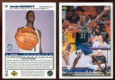Kevin Garnett RC 1995-96 CC UD Card Rookie KG Minnesota