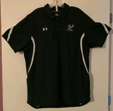 UnderArmour HeatGear Green Mens USF Bulls Volleyball Short Sleeve Shirt SZ.XL.