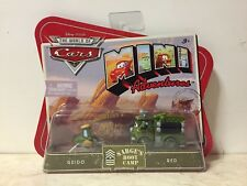 Disney CARS 1 MINI ADVENTURES Sarge's Boot Camp Guido & Red