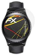 3x FX-Antireflex-HD Schutzfolie Samsung Gear S2 Displayfolie Folie