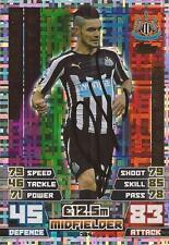 REMY CABELLA SIGNED NEWCASTLE 'MAN OF THE MATCH' 2014/2015 MATCH ATTAX CARD+COA