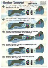 Print Scale Decals 1/48 HAWKER TEMPEST Part 1