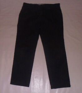 George Navy Casual Trousers Size 36W, 29L
