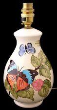 Beautiful Moorcroft Pottery Butterfly Lamp Base (Lampbase)