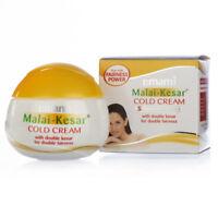 3X Emami Malai Kesar Cold Cream With Active Herbs Saffron & Aloevera - 30 ML