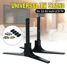 2X 32-65'' Universal Table Top TV Pedestal Stand Base fit For Sharp   US