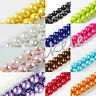 4mm,6mm,8mm,10mm,12mm Round Glass Pearl Spacer Loose Beads Jewelry Finding DIY
