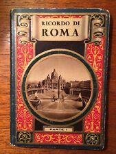 Carnet  de cartes postales Rome Cartoline Roma