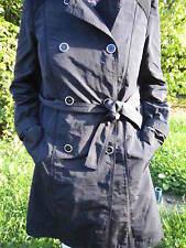 GERARD DAREL-IMPERMEABLE TRENCH -AUTHENTIQUE-lavable-noir-T46- tres léger-NEUF