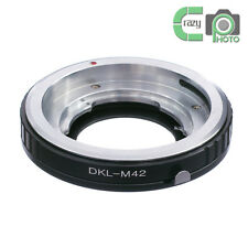 DKL-M42 Adapter for Voigtlander Retina DKL Deckel Lens to M42 Screw Mount Camera