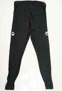 Pearl Isumi Elite Women cycling Running Black pants leggings Zip Ankle M