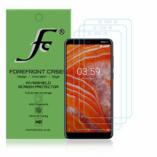 Nokia 3.1 Plus Hydrogel Screen Protector [3 PACK] Guard Cover Film HD Clear Thin