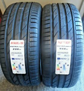 """NEW 255 50 20 Maxxis Victra SportS VS05 XL   255/50/R20  2555020 """"A"""" RATED"""
