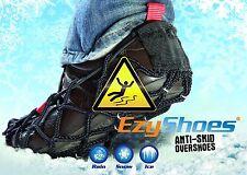 EzyShoes Antirutsch Krallen Gr 37-42 Schuhspikes Spikes Gleitschutz Schneeschuhe