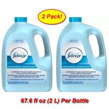2 Pk Febreze Value Refill 67.6 oz Extra Strength Original Scent Fabric Refresher