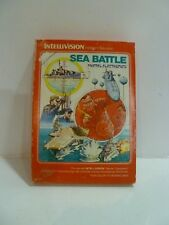 SEA BATTLE     - Intellivision - Mattel