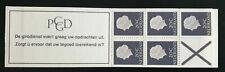 Nederland Postzegelboekje PB 6aS Smal kruis Postfris