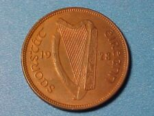 New listing Ireland Half Penny 1928 Unc Sow With Piglets