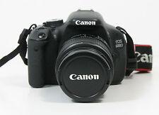Canon EOS 600D 18.0 MP  KIT EF-S 18-55 mm IS II NEU!! 0 Auslösungen vom Händler