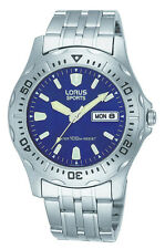 Lorus RXN047L-9 Men's Sport Watch Stainless Steel WR 10ATM 39mm RRP$130