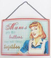 Plaques, panneaux et enseignes vintage/rétro pour la décoration du salon
