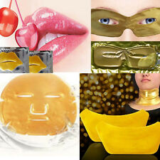Gold Collagen Mask Face Facial Eye Neck Chest Mask Anti Ageing Wrinkle Masks