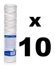 """10 x 10 micron sediment filter string-wound 10"""",water filter,Reverse osmosis,RO."""