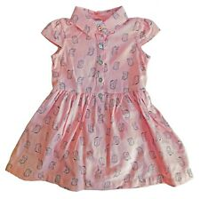 Carter's Just One You Dress & Panty Set Cap Sleeves Owl Print Pink Size 9M