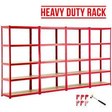 BN 4 Bay 5 Tiers Heavy Duty Shelving Racking Steel Metal Garage Shelf Units
