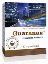 Olimp GUARANAX, Guarana Extract 50% Natural Caffeine, Stimulant Energy & Power