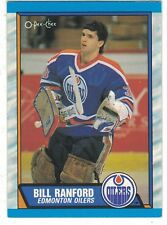 1989-90 O-Pee-Chee OPC #233 Bill Ranford Edmonton OIlers NHL Hockey