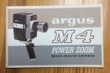 Argus M4 Power Zoom Booklet INV-P0435