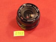 Lens Objektiv Porst WW-MACRO 1:2.8/28mm X-M GMC Durchmesser 52