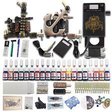 Completi per tatuaggi tattoo kit macchina 2 x Professional tatuaggi set tips J25