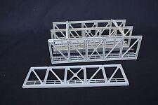 V896 Jouef maquette train Ho pont poutre type eiffel 2 voies + 1 montant rails