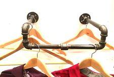 Urban Industrial Pipe Wall Rack - Clothing Rack, Closet Organization, Retail Dis