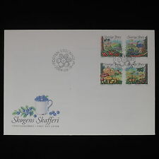 ZS-Z204 SWEDEN - Fdc, 2004, Fruits And Mushrooms Cover