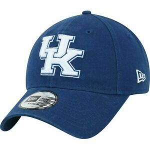New Era Royal Kentucky Wildcats Core Fit 49FORTY Fitted Hat - Size XL