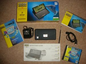 Psion Series 5 PDA, in VG condition Boxed, + software, manual, cable, & PSU