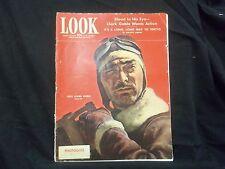 1943 MARCH 23 LOOK MAGAZINE - LIEUTENANT CLARK GABLE - ST 1525