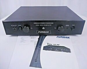 Furman ELITE-15 PF Power Factor 13-Outlet Linear AC Power Conditioner  *MINT*